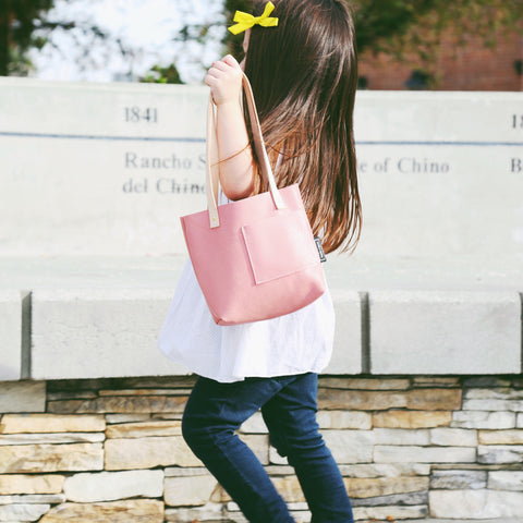 Classic Tote | Coral Pink