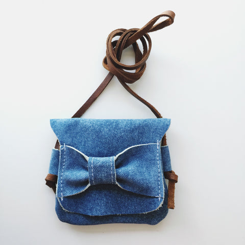 Teeny Traveler | Denim
