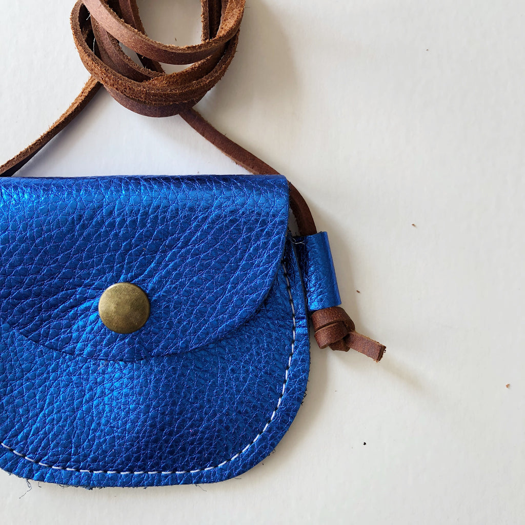 Wanderlust Pocket | Princess Blue