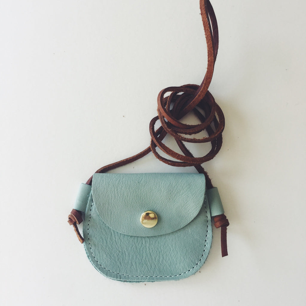 Wanderlust Pocket // Mint