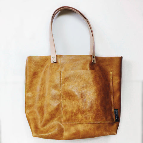 The Medium Classic Tote | Spicy Mustard