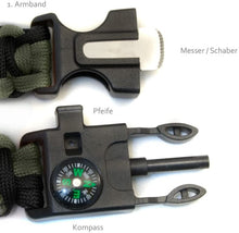 Laden Sie das Bild in den Galerie-Viewer, Survival Armband