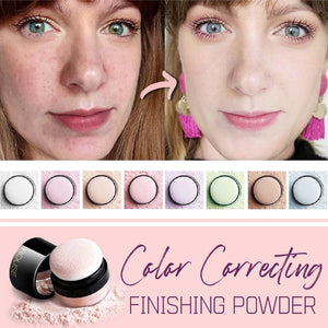 Color Correcting Finishing Powder