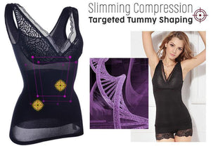 Sculpting Compression Lace Shaping Tank Top