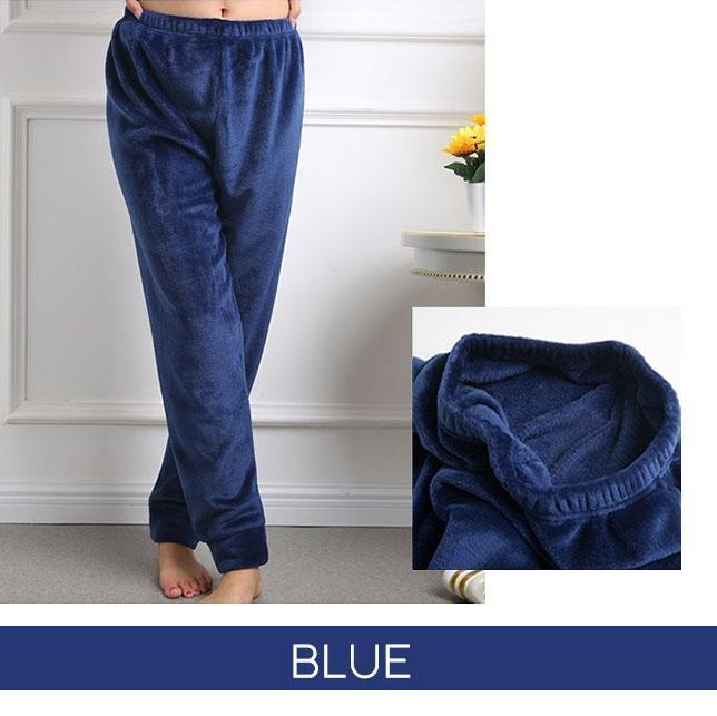 Thermal Velvet Fleece Winter Pants