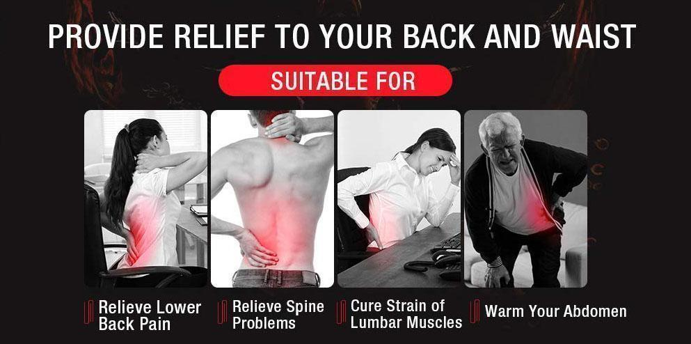 Magnetic Thermo Back Pain Therapy Belt