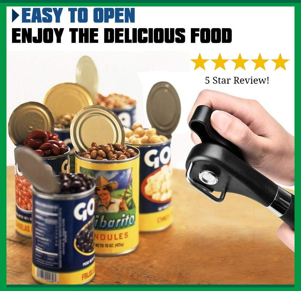 Safe Edge Can Opener