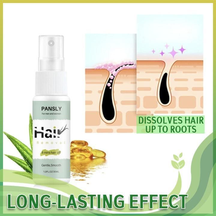 Natural Permanent Hair Inhibitor Spray