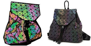 Luminous Geometric Travel Backpack