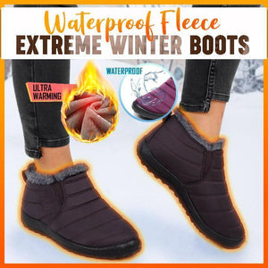 Waterproof Fleece Extreme Winter Boots