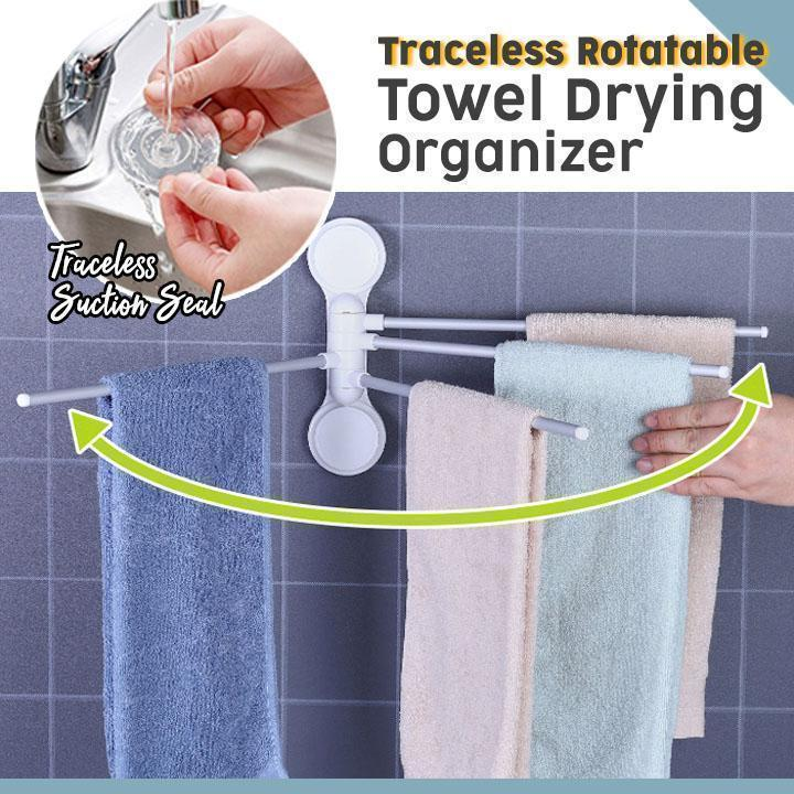 Traceless Rotatable Towel Drying Organizer