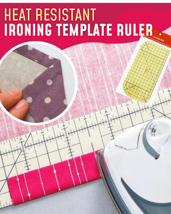 Heat Resistant Ironing Template Ruler