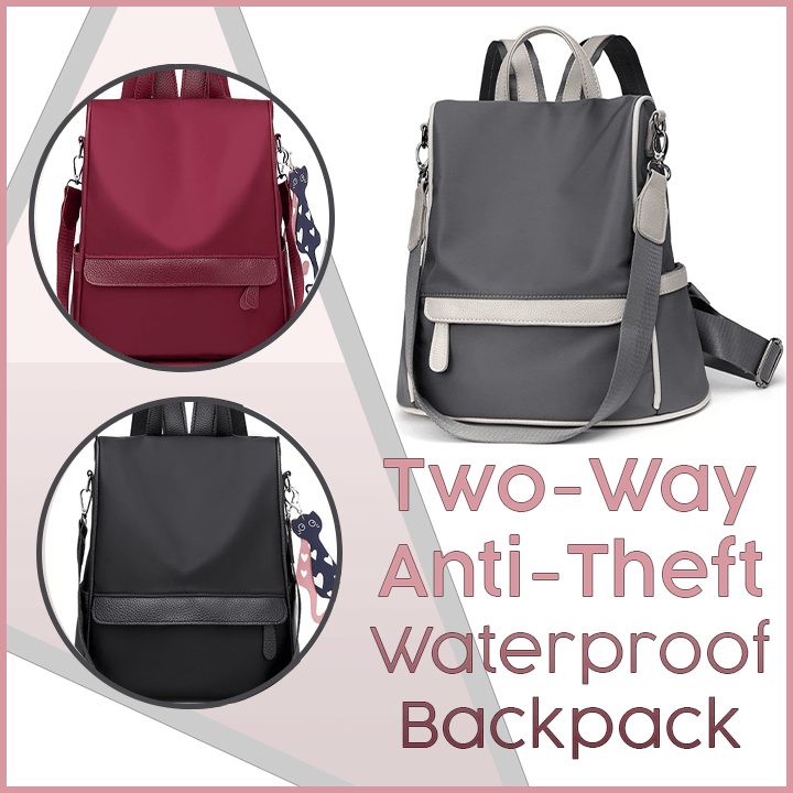 2-Way Anti-Theft Waterproof Backpack