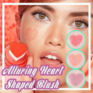 Glowy Heart Shaped Blush
