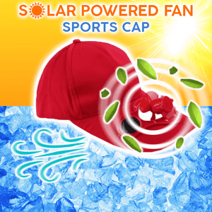 Solar Powered Fan Sports Cap