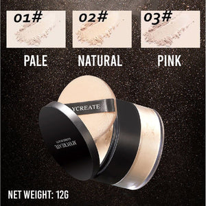 Waterproof Matte Finish Loose Powder