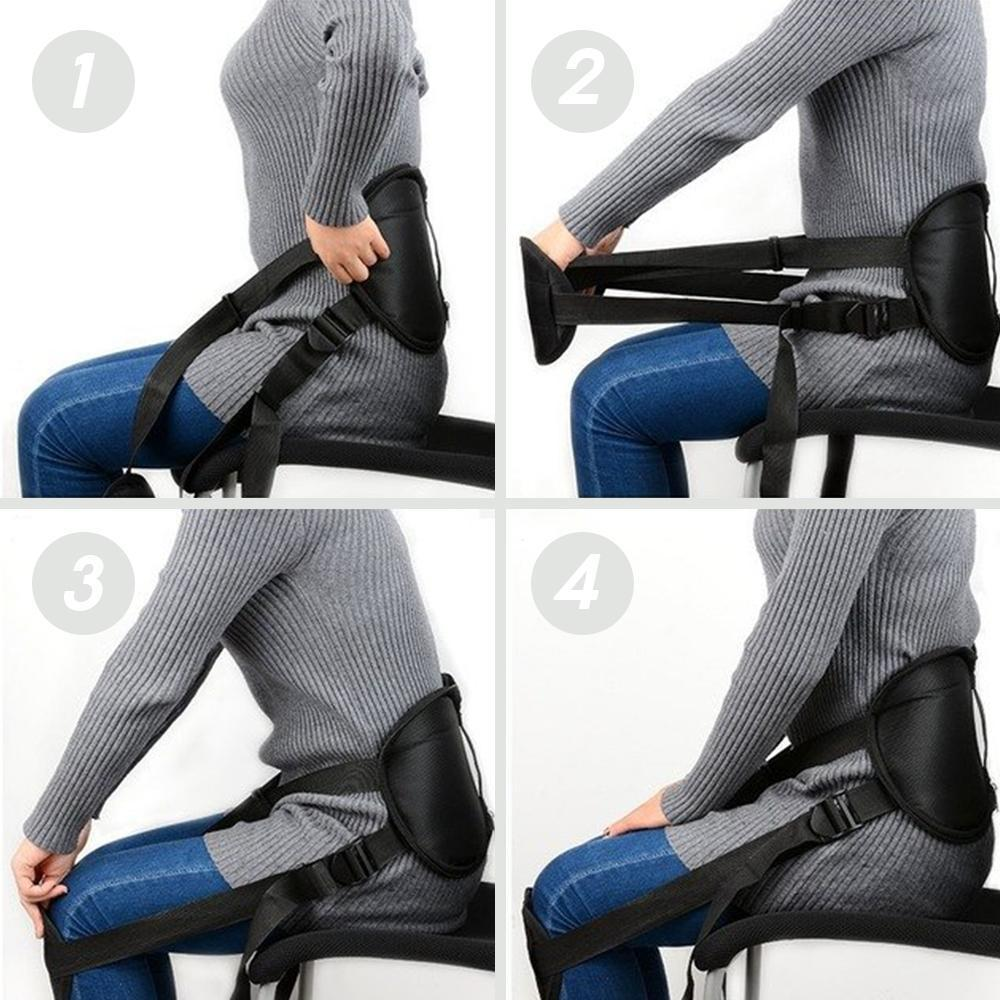 Adjustable Lumbar Orthosis Posture Corrector
