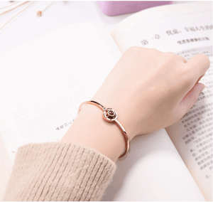 I Love You Projection Bracelet in 100 languages