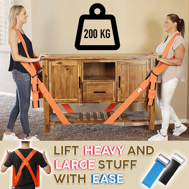 Easy Lift Moving Straps