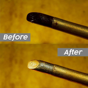 Soldering Iron Cleaning Brass