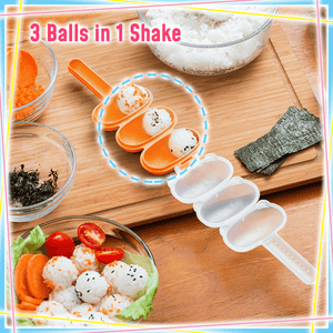 Multifunctional Shaky Rice Ball Maker