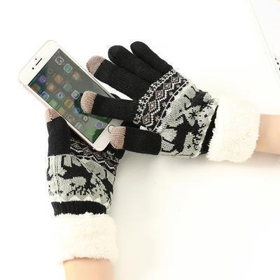 Thermal Fleece Touchscreen Gloves