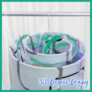 Easy-Dry Spiral Laundry Rack