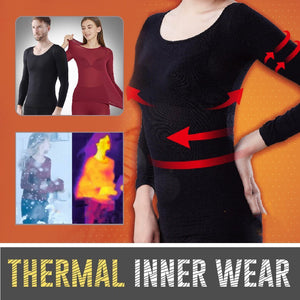 Seamless & Thin - Elastic Thermal Inner Wear