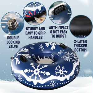 Inflatable Skiing Snow Ring
