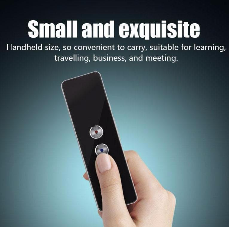 Portable Real Time Voice Translator (40+ Languages)