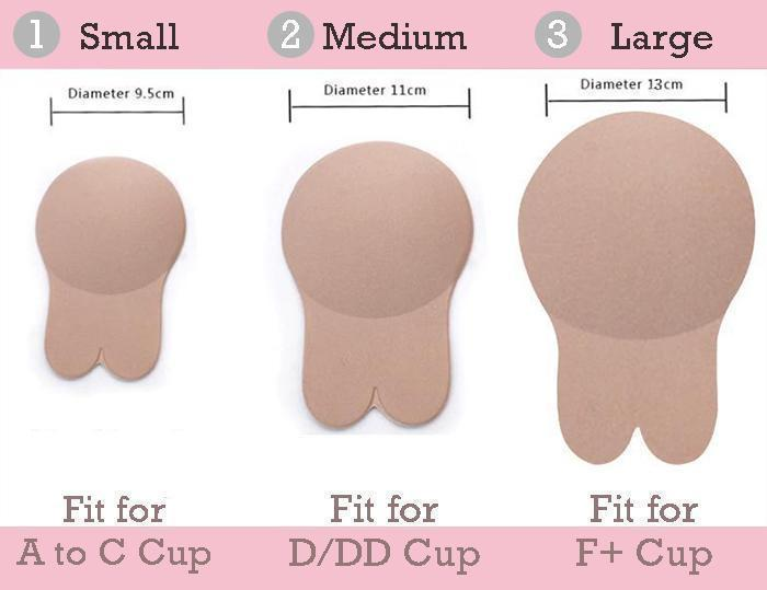 Advanced Invisible Strapless Push-Up Bra Tape