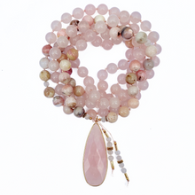 Load image into Gallery viewer, Rose Quartz & Pink Opal