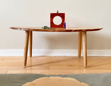 Load image into Gallery viewer, Ash Wood Meditation Altar Table
