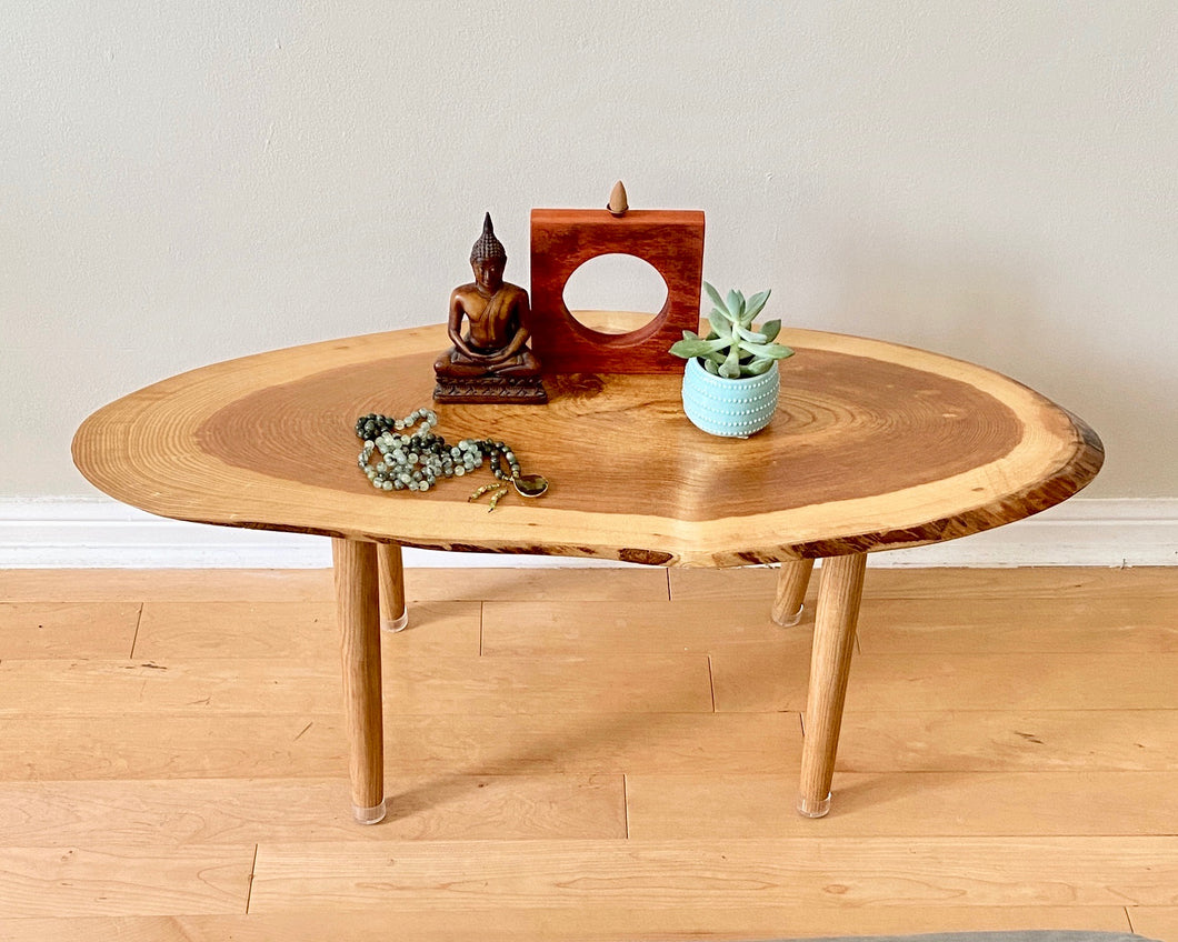 Ash Wood Meditation Altar Table