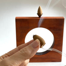 Load image into Gallery viewer, LOVE + LIGHT backflow incense cones