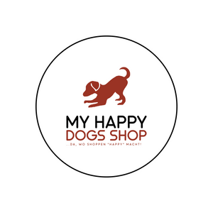 "My happy dogs Shop, da wo shoppen ""happy"" macht!"