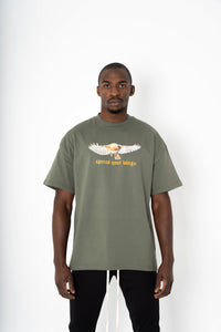 DE LA BRETHONIÈRE SPREAD YOUR WINGS TEE - Xclusivmen