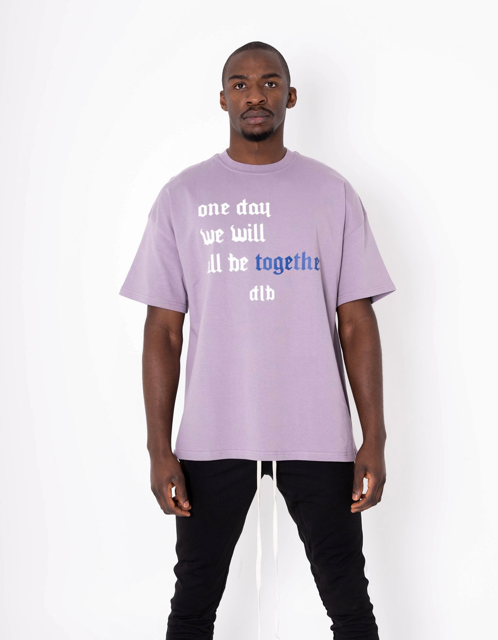 DE LA BRETHONIÈRE ONE DAY WE WILL ALL BE TOGETHER TEE - Xclusivmen