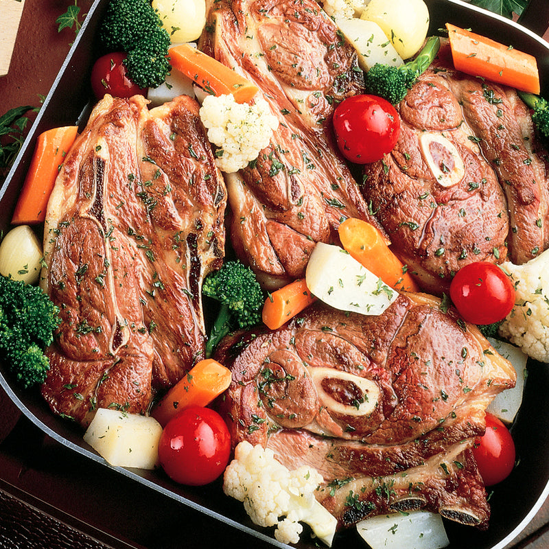 American Lamb Shoulder Chops 8 count