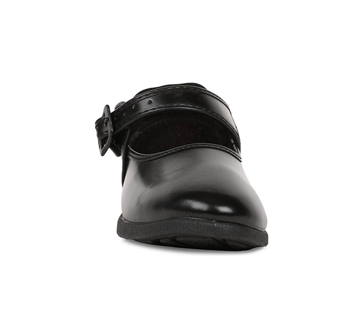 Bata Black Strap Bellerina shoes For Girls