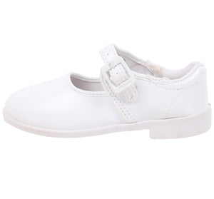Bata White Strap Bellerina shoes For Girls