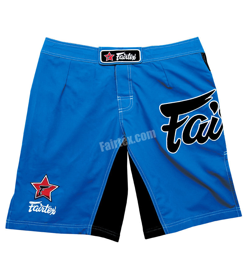 Fairtex MMA Board Shorts - Satin Blue