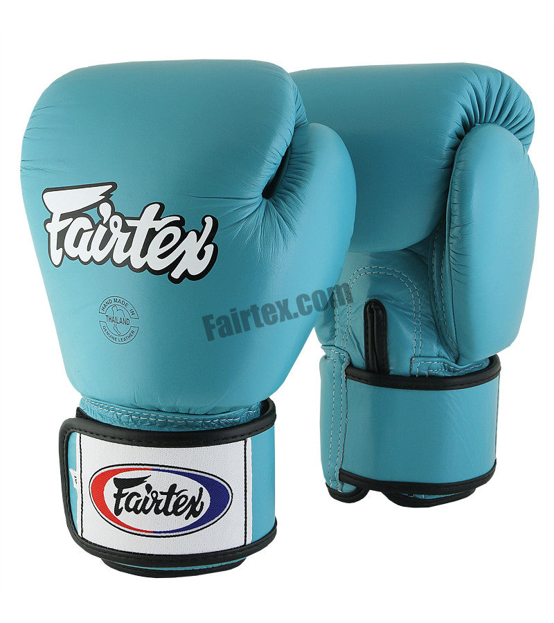 Marina Blue Muay Thai Boxing Gloves