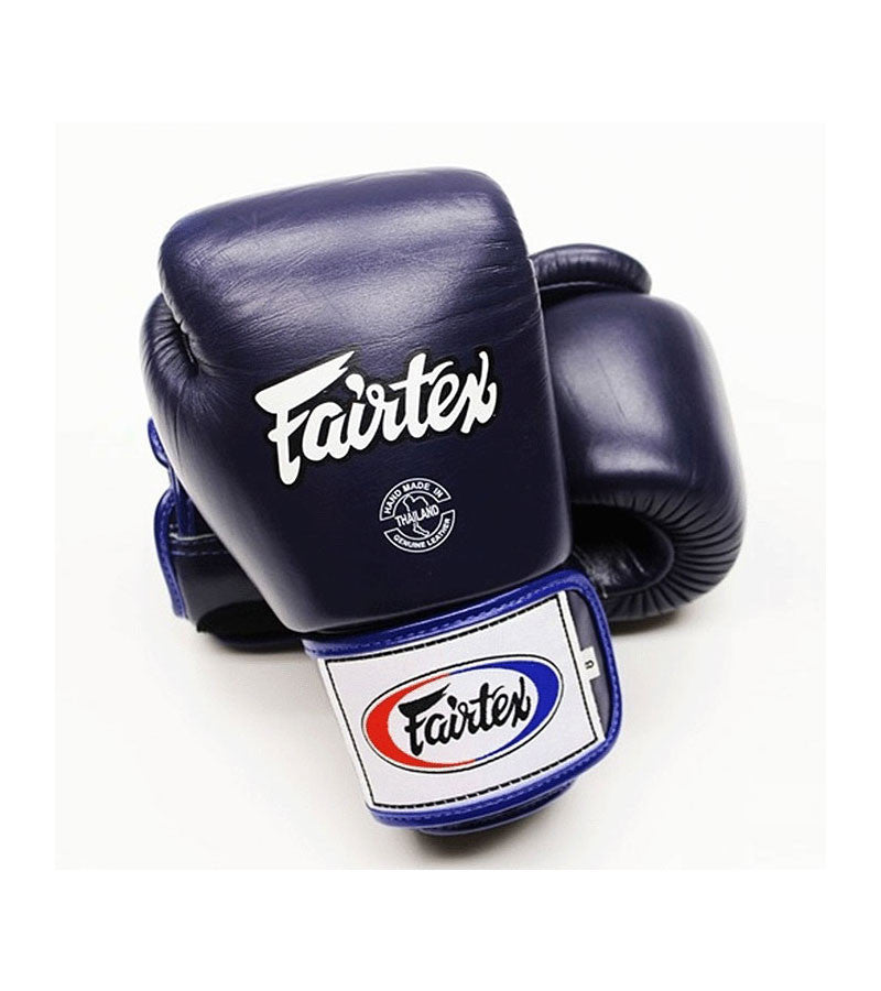 Tight Fit Universal Muay Thai/Boxing Gloves - Blue