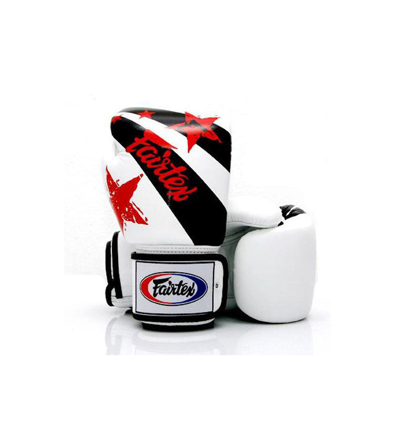 BGV1 Nation Prints Universal Gloves White