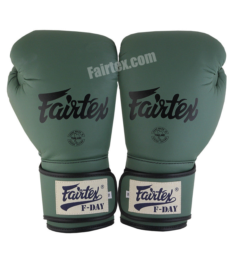 Green FDay Limited Edition Universal Muay Thai/Boxing Gloves