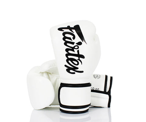 Fairfax Muay Thai Gloves White