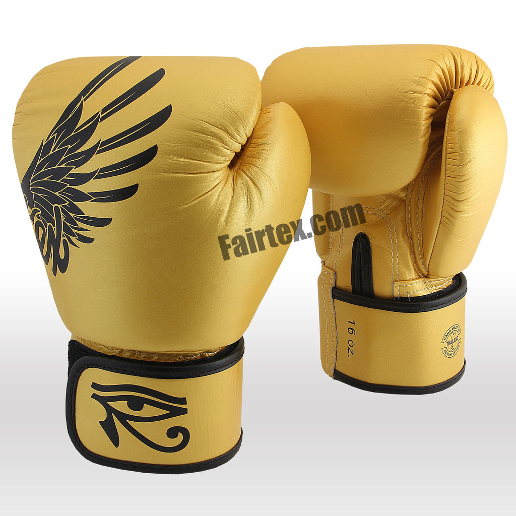 "Gold ""Limited"" Edition - Muay Thai/Boxing Gloves"