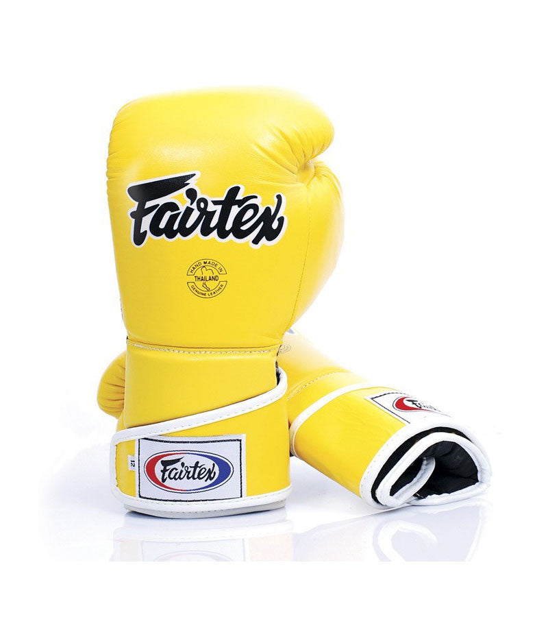 Angular Sparring Boxing Gloves - Yellow/Black