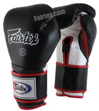 Mexican Style Boxing Gloves - Black/White/Red
